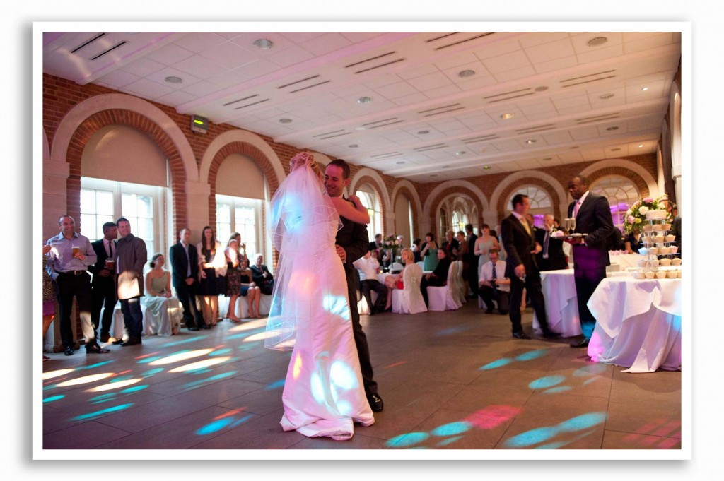 great fosters wedding photo first dance