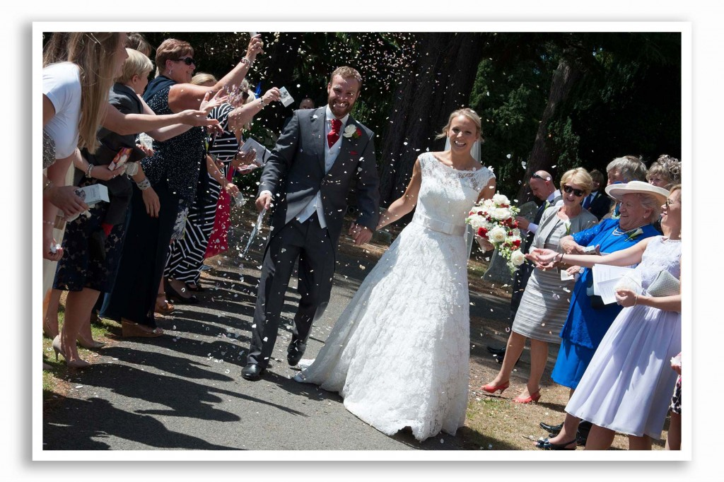 St Judes United Church Wedding Photograph