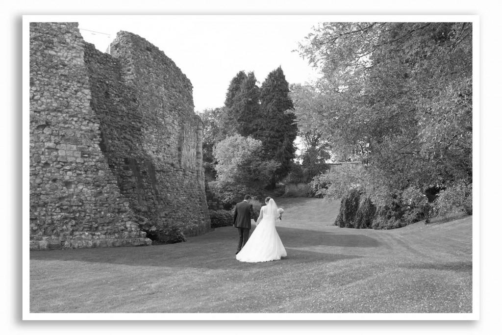 Farnham Castle Wedding Photo