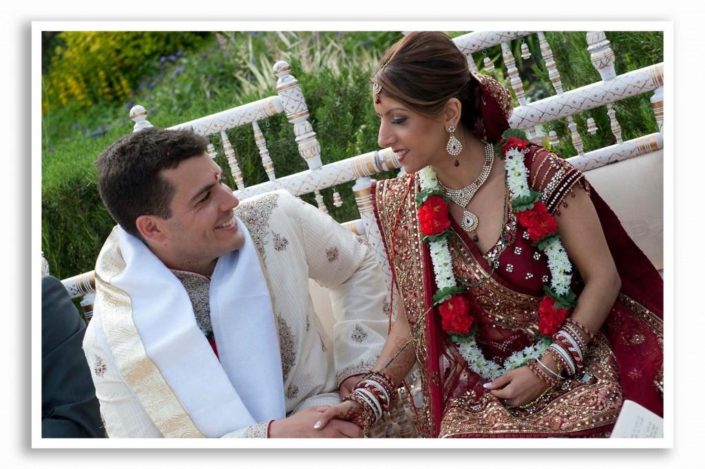Northbrook Park Asian wedding photo