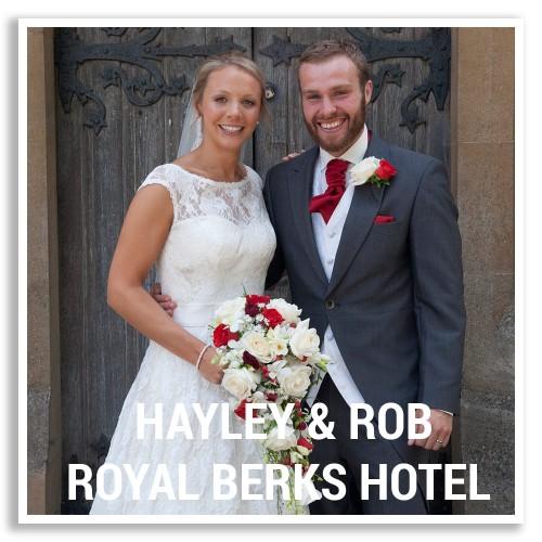 Royal Berkshire Hotel Wedding Photography
